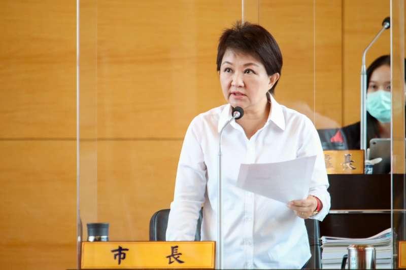 因為中捷發生異常狀況,台中市長盧秀燕取消秋鬥行程。(資料照片,臺中市政府提供)
