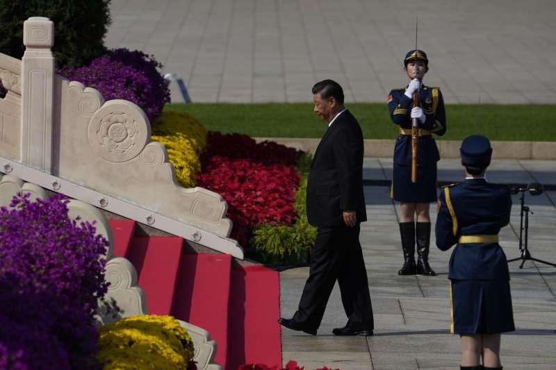 2020年9月30日,中國國家主席習近平出席烈士紀念日活動(AP)
