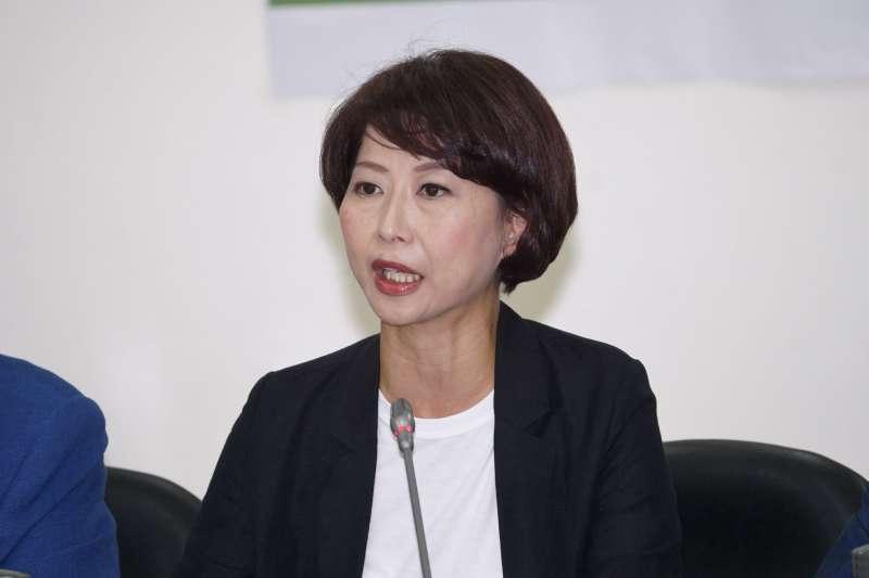 20200930-立委陳亭妃30日出席修憲議題記者會。(盧逸峰攝)