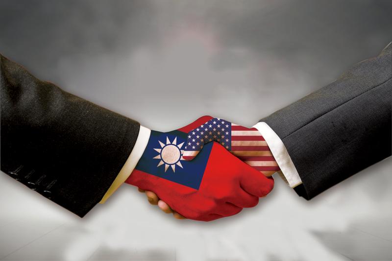 作者認為雖中美關係惡化、兩岸「冷對抗」,但不必擔心拜登會在外交和軍事方面,降低對台灣的支持。(合成圖)