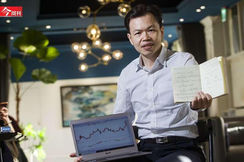 陳弘聚焦強勢股、嚴守停損停利與做好資金控管的操作策略,讓他在幾十年間從30萬元起家到累積3千萬元身價。(圖/今周刊提供)