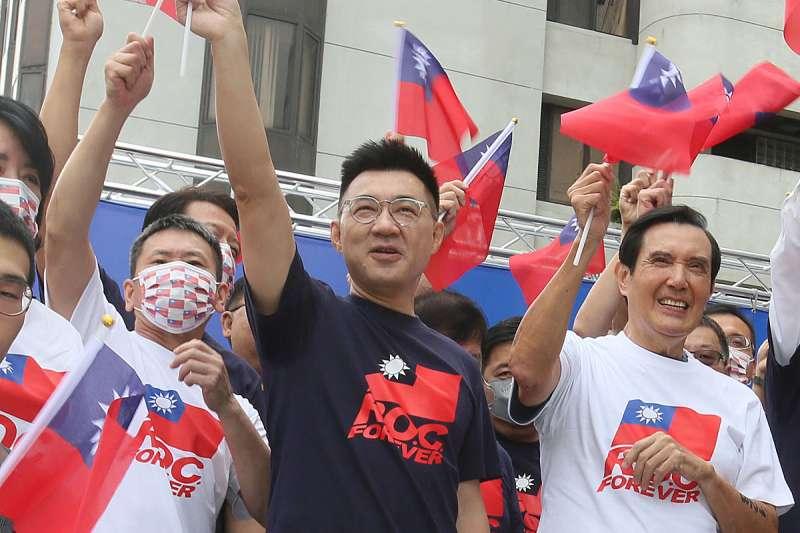 國民黨23日舉辦抗戰勝利暨台灣光復75周年與僑胞有約活動,黨主席江啟臣表示,台灣光復過程當中,海外華僑是中華民國最堅實後盾。(資料照,柯承惠攝)