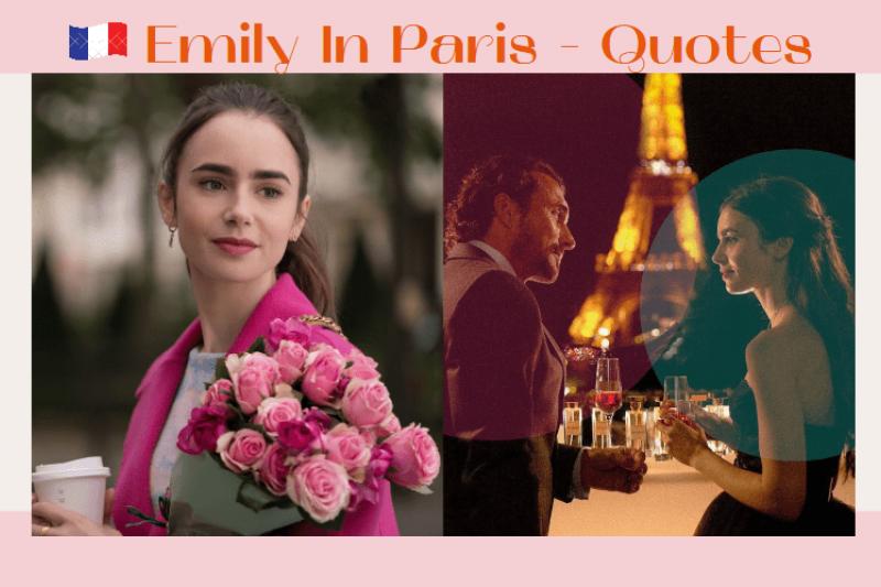 美劇《艾蜜莉在巴黎》(Emily in Paris)的這20個金句值得我們反思目前愛情、工作和生活的狀態。(圖/少女心文室提供)
