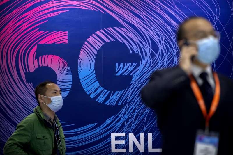 中國、5G網路(美聯社)