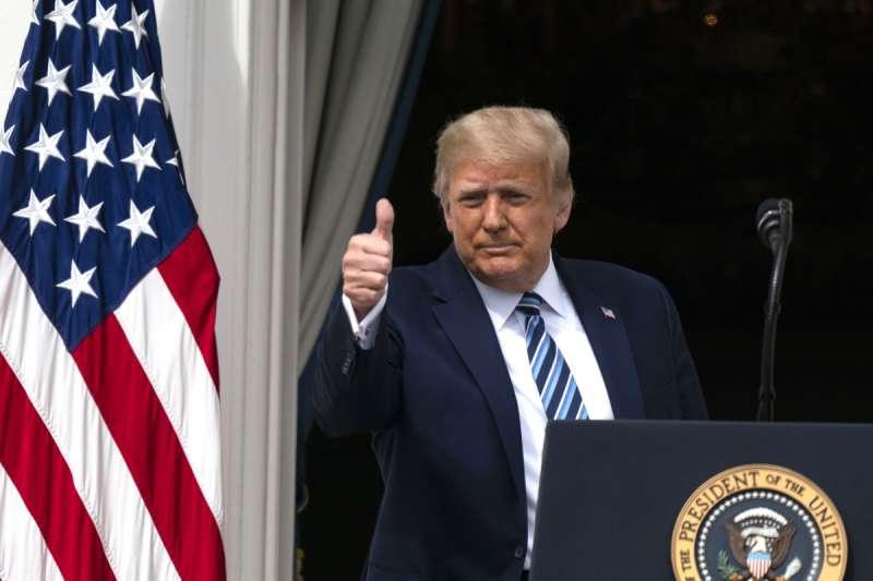 川普的狂人作風,導致美國總統對內對外都失去領導力。(美聯社)