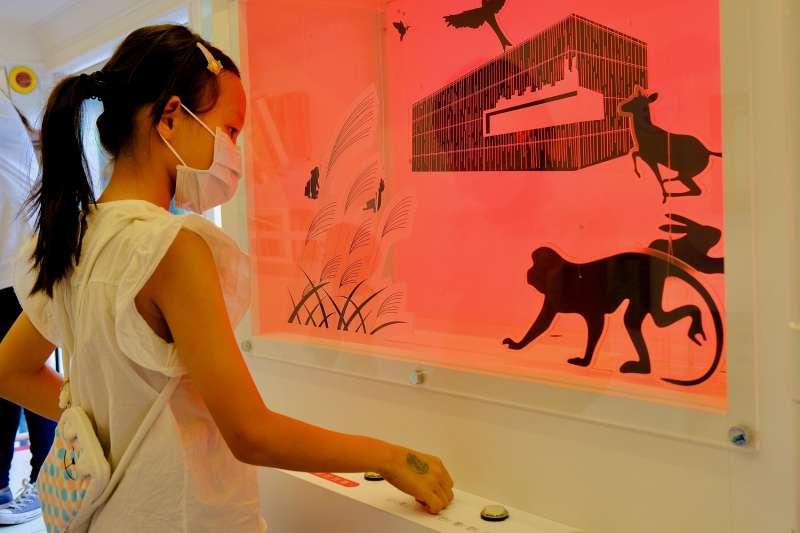 我是小小觀察員,學童可以創造屬於自己的美術館故事。(圖/新北市文化局提供)