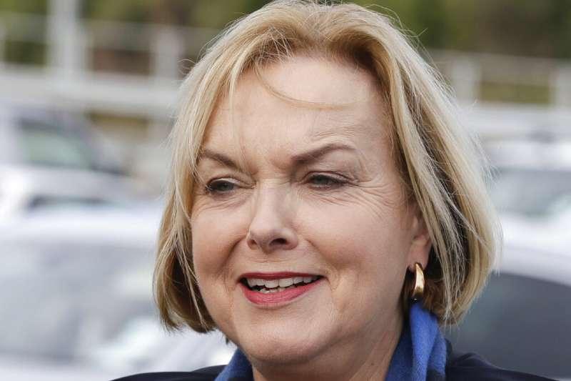 紐西蘭國家黨黨魁柯琳絲。(AP)