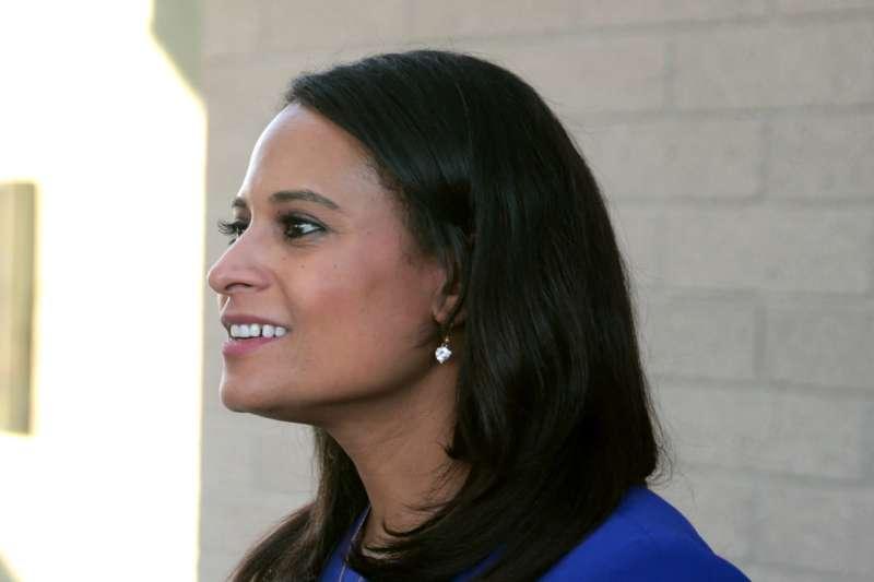 2020年美國總統候選人電視辯論會最後一場主持人韋爾克(Kristen Welker)(Gage Skidmore@Wikipedia / CC BY-SA 3.0)