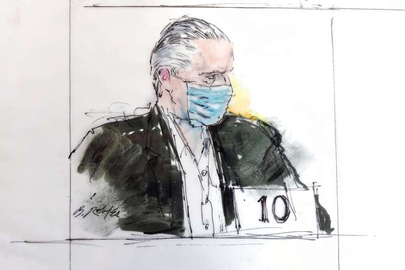 墨西哥前國防部長塞北達驚爆是毒品教父。(AP)