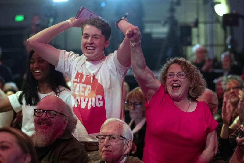 2020年10月17日,紐西蘭舉行國會選舉,總理雅頓(Jacinda Ardern)帶領工黨獲得壓倒性勝利(AP)