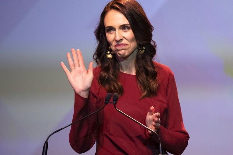 2020年10月17日,紐西蘭舉行國會選舉,總理雅頓(Jacinda Ardern)獲得壓倒性勝利。(AP)