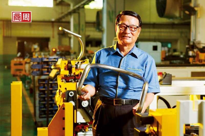 圖為和和機械董事長林志遠。 (攝影者.駱裕隆,商業周刊提供)