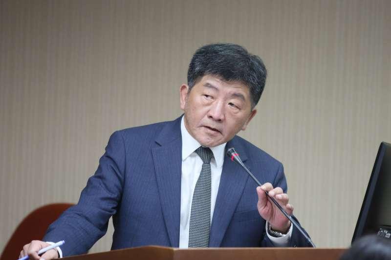 衛福部長陳時中(見圖)日前表示,選台北市長對他來說是「想像題」。(資料照,柯承惠攝)