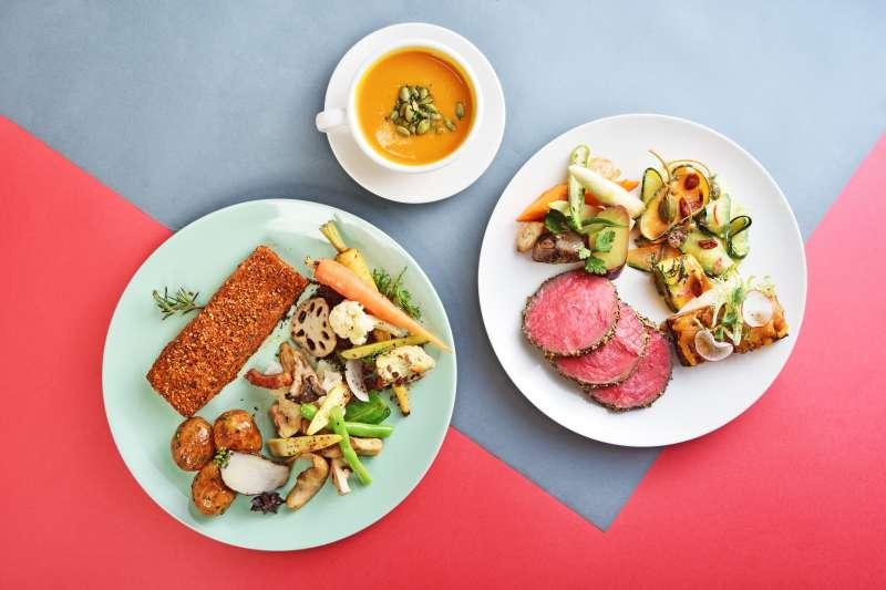 20201019-針對商圈特性,gonna EXPRESS推客單價約230至300元,主打「好肉好菜、快速便利」菜單。(雄獅提供)