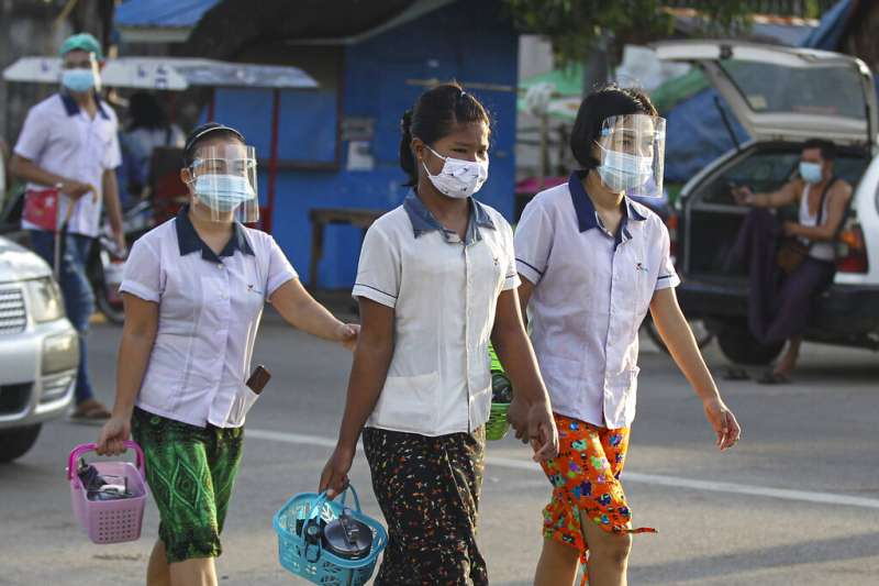 疫情嚴重影響全球2020年的經濟表現。(美聯社)