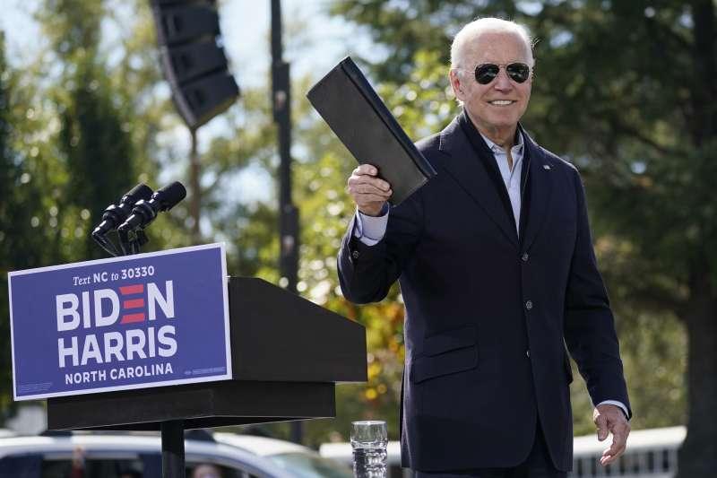 2020年美國總統候選人拜登(Joe Biden)(AP)