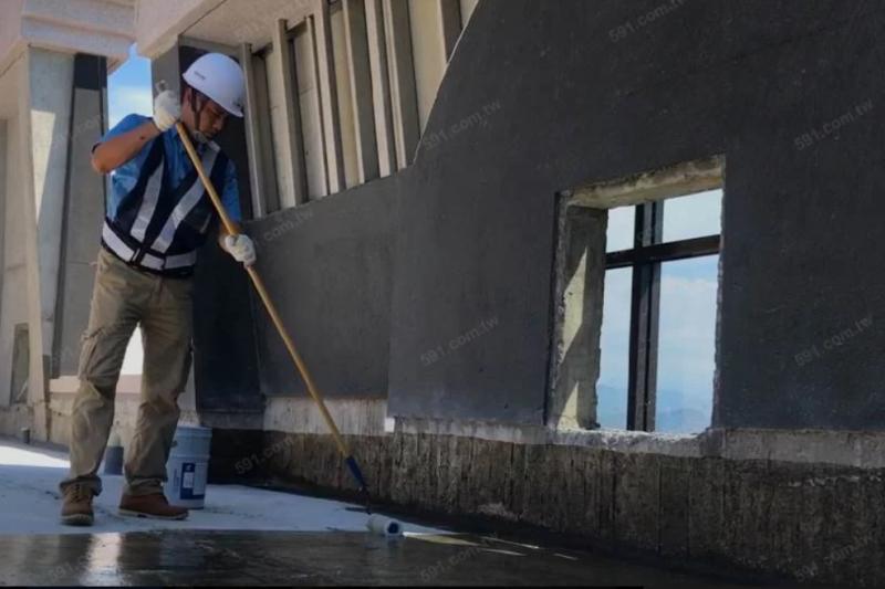 建商當初蓋房子時防水工程做工精細程度費用差距大。(圖/大信防水)