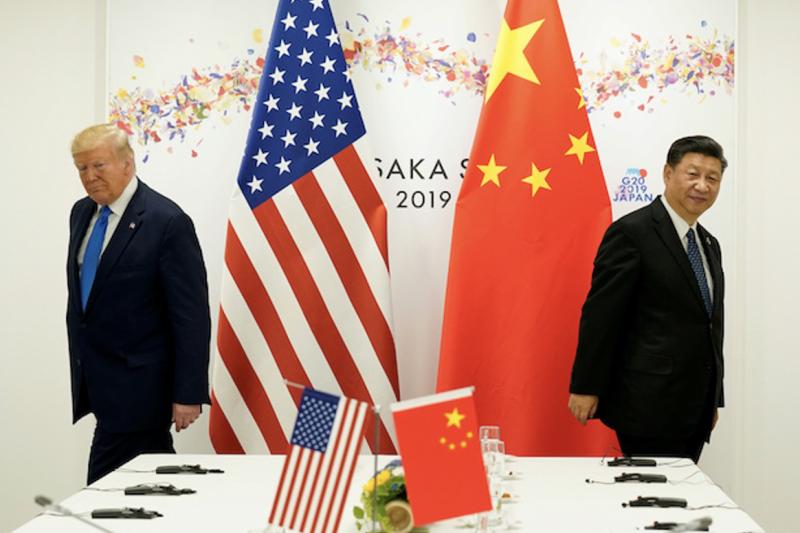 中美新冷戰:川普與習近平。(圖/van huy nguyen@flickr)