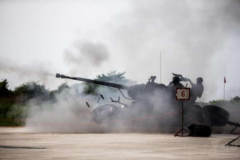 空軍目前使用的35快砲已來到所謂的006型,意即已進入第六代。(取自軍聞社)