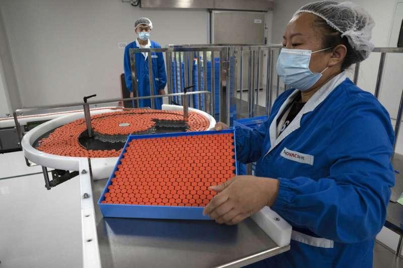 COVAX將支持各種候選疫苗的研發與生產。(美聯社)