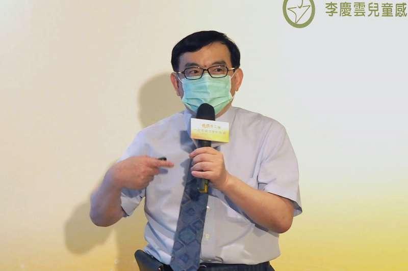 台大兒童醫院院長、感染科專家黃立民(見圖)指出,疫情已多點爆發,一爆出去恐怕收不回來。(資料照,林瑞慶攝)