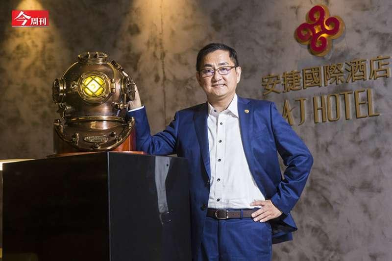 安杰國際物業集團董事長陳品峰(攝影-陳弘岱,今周刊提供)