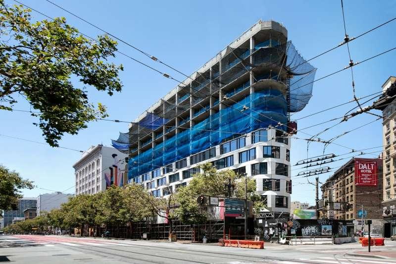 大陸建設首度揮軍美國市場「尚芮公寓SERIF」,規劃結合飯店、精品商城與住宅的大型整體開發個案。(圖/大陸建設提供)