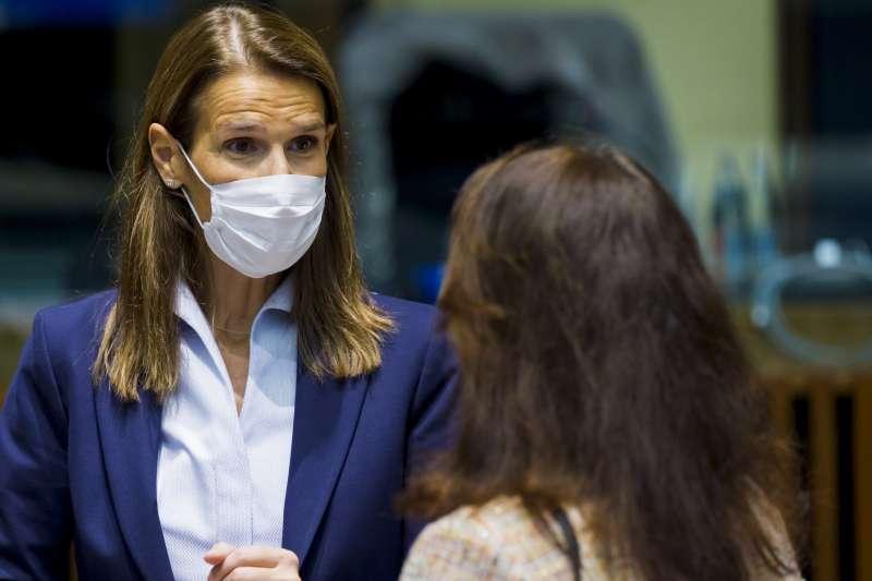 比利時外交部長威爾梅斯確診武漢肺炎,送加護病房治療(資料照,AP)
