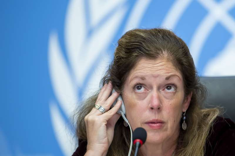 聯合國利比亞問題特使威廉斯(Stephanie Turco Williams)(AP)