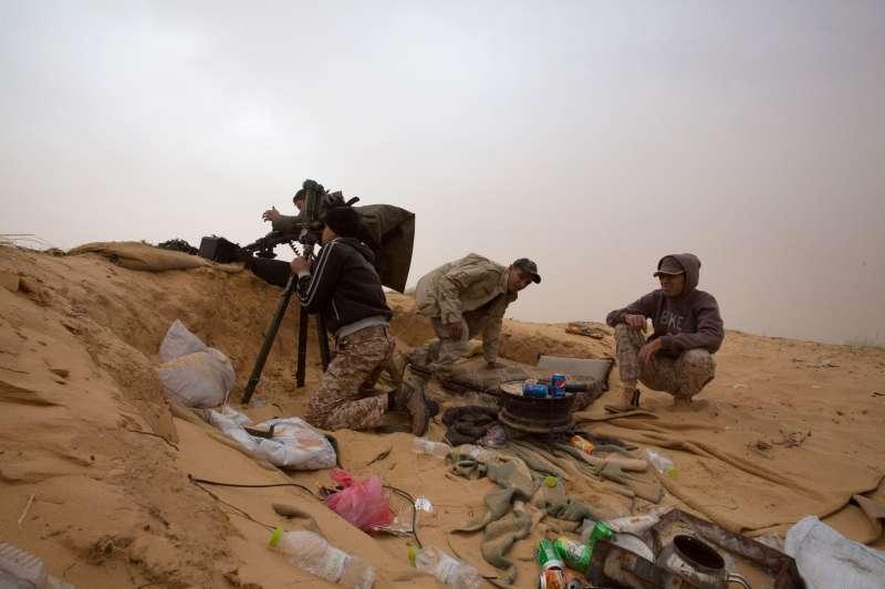 利比亞內戰(AP)