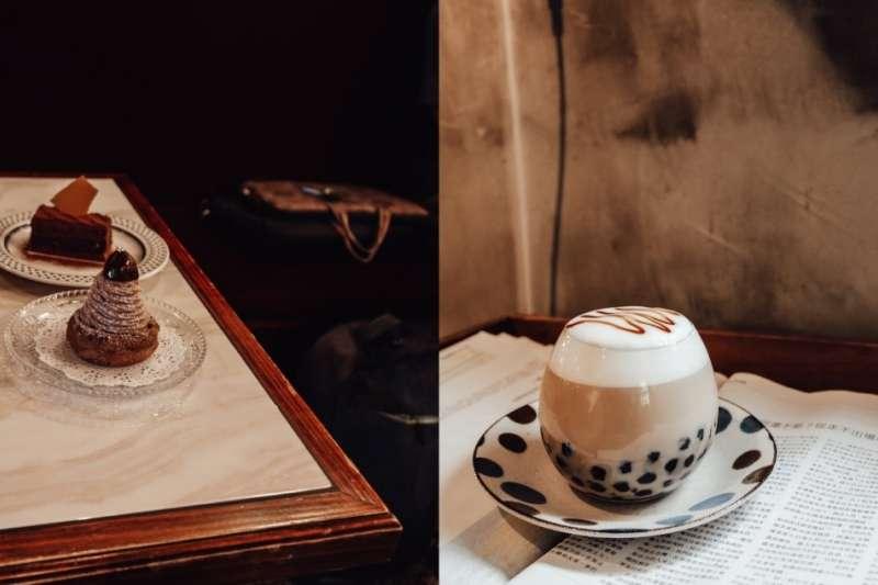 黑膠唱片徐徐演奏著薩克斯風、鵝黃色的燈光配上香氣四溢的手沖黑咖啡,復古熱潮崛起的這兩年,總能在打卡牆上瞧見令人為之心動的復古風咖啡廳。 (圖/ wuyu1029@instagram)