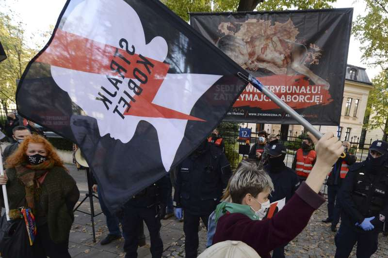 波蘭 墮胎權(AP)