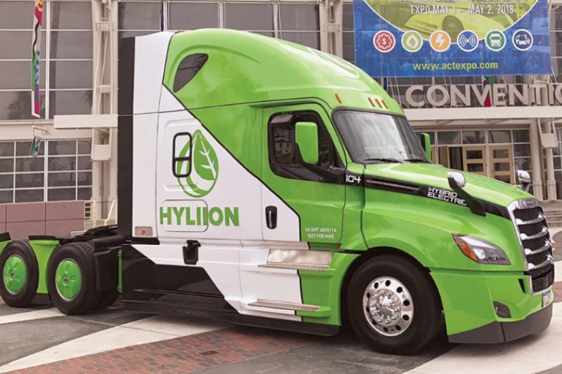 電動汽車品牌 Hyliion(圖片來源:Hyliion官方)