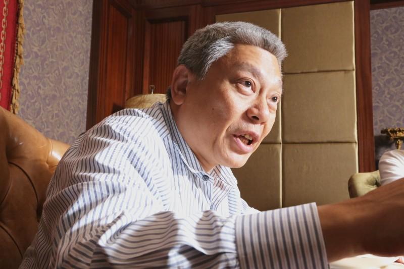 蔡衍明稱,為了中天新聞人的尊嚴與生存權,他選擇站出來。(新新聞資料照)