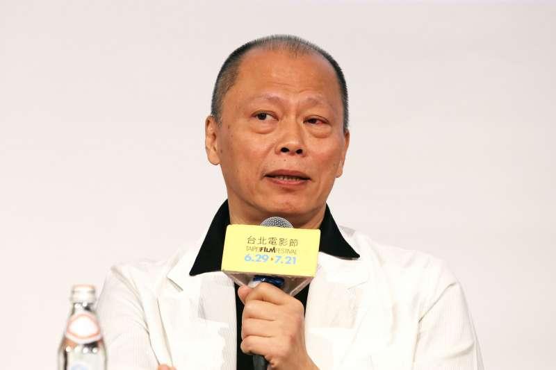 20201028- 著名導演張毅參加2012台北電影節的一場座談會。(資料照 林瑞慶攝)