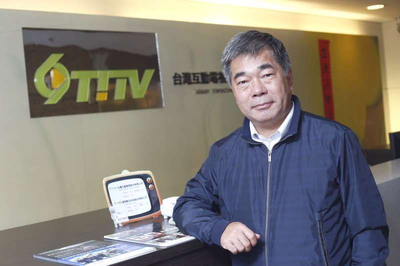 近10多年間,王志隆在媒體產業急速躥紅。(郭晉瑋攝)