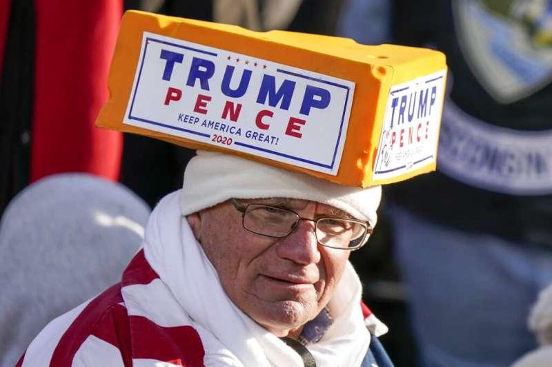 支持川普的威斯康辛州選民。(美聯社)