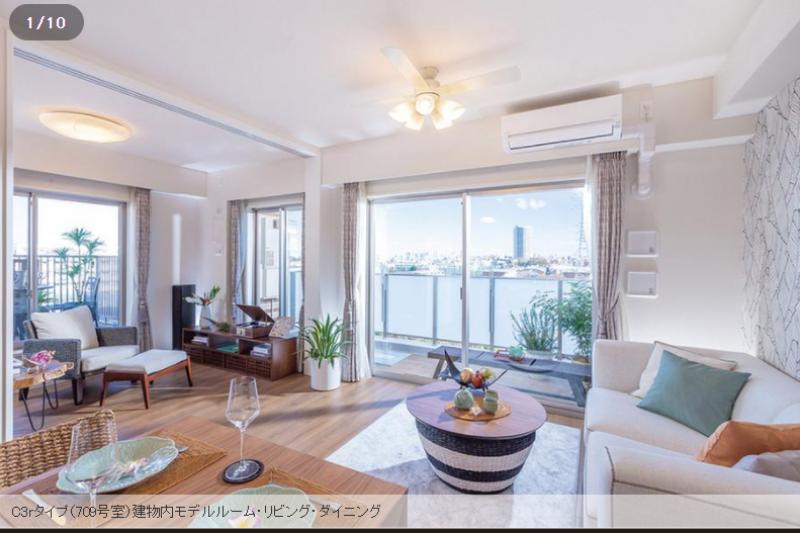 世田谷位於東京都心南西部,是最受歡迎的高級住宅區之一,每坪62萬元台幣。(圖截自日本網站suumo.jp)