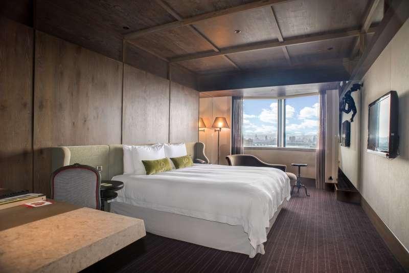 君品酒店推出雅致客房住宿券,平日入住可升等豪華客房。(雲朗觀光提供)