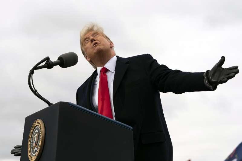 2020美國大選:共和黨總統候選人川普(AP)