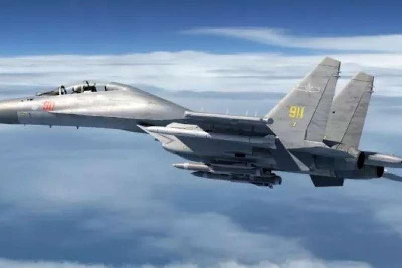 前國防部長楊念祖更警告,若中國有意侵台,澎湖是可能被攻擊的目標。(資料照,空軍司令部提供)