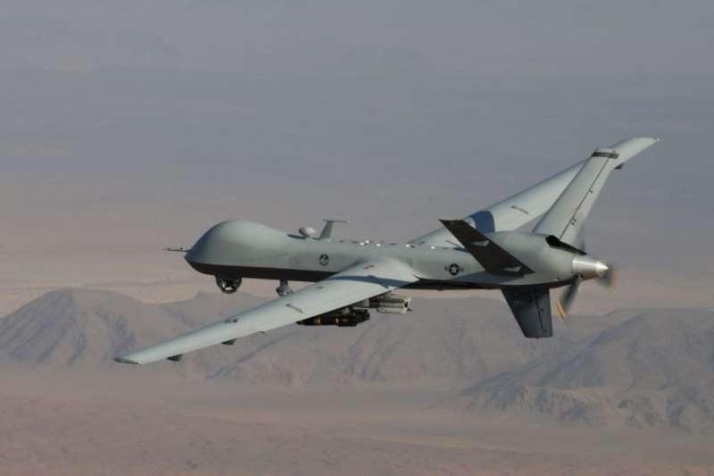 圖為美國空軍的MQ-9A無人機。據報導,美國政府接近批准向台灣出售海上偵察型的MQ-9B海上衛士無人機。(美國空軍官網)