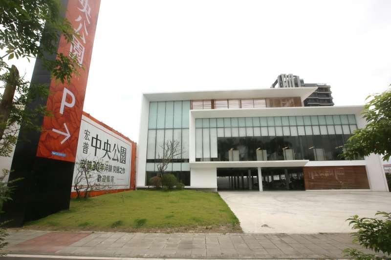 海悅深耕全台建案代銷市場,位於新北的宏普中央公園提供成長動能。(柯承惠攝)