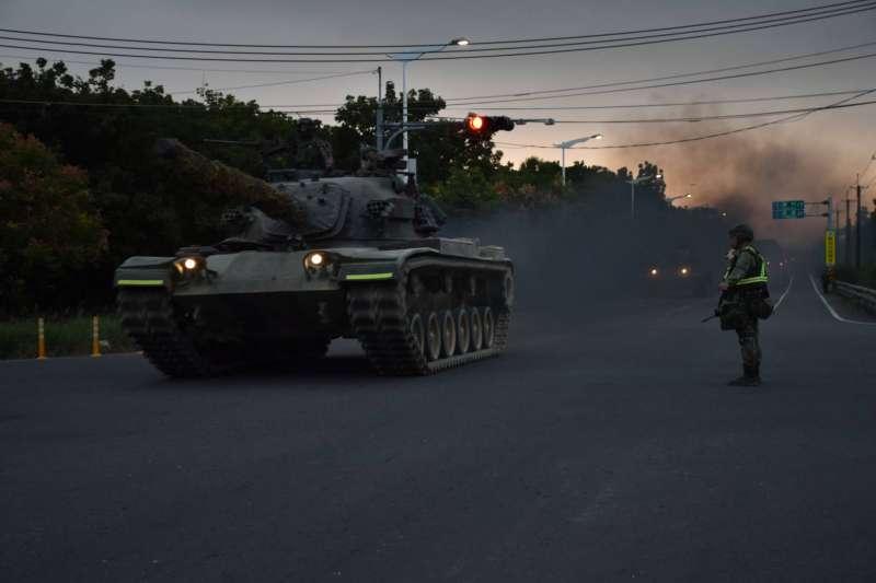20201104-CM11戰車。(國軍第4作戰區提供)