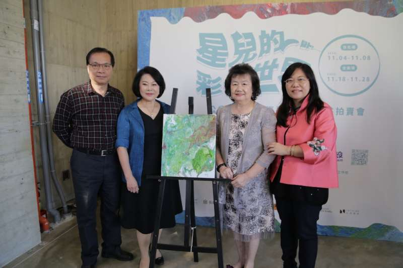 中華亞洲藝術協會將幫助星兒們延續夢想並繼續推動更多公益藝術活動,幫助更多的弱勢團體。(圖/中華亞洲藝術協會提供)