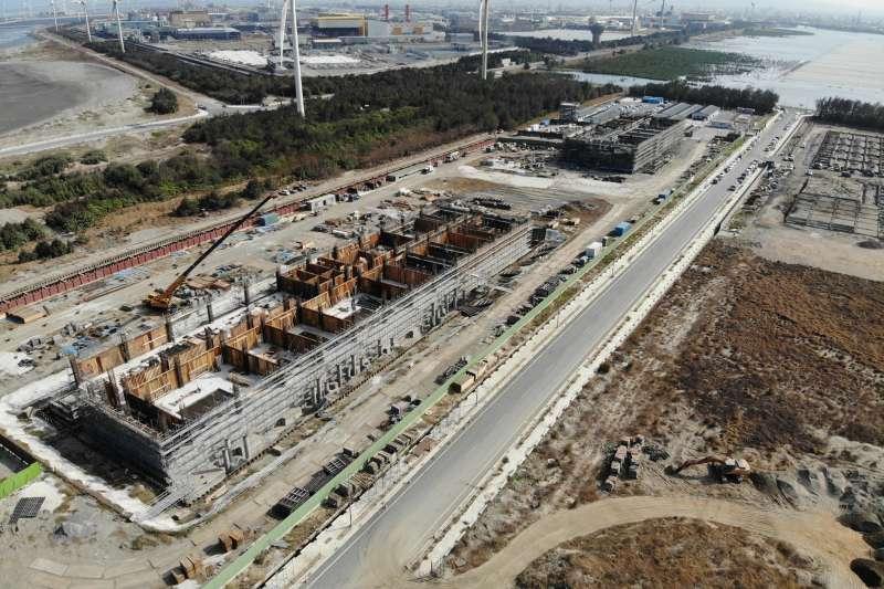 沃旭大彰化東南及西南第一階段離岸風場陸上變電站預計於2021年底試運轉,待風場完工後擔任併聯輸電重要角色。(圖片提供:沃旭能源)