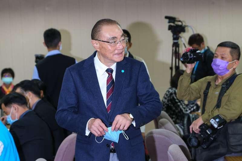 20201105-退輔會主委馮世寬5日出席外交國防委員會。(顏麟宇攝)