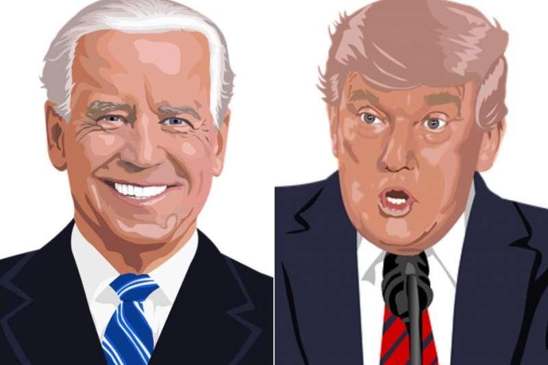 隨著美國總統大選選情不斷翻轉,台灣網友們的心情也大洗三溫暖。(圖/網路溫度計提供)