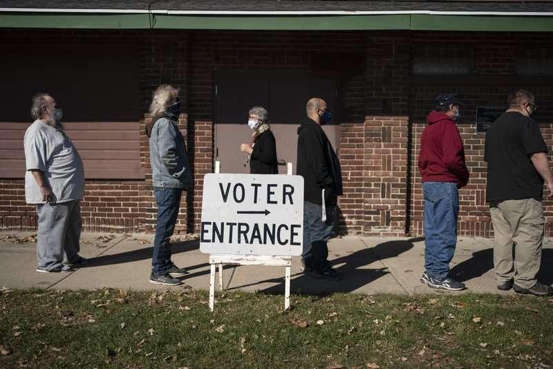 2020美國大選,美聯社調查指出,疫情最嚴重的郡裡,超過9成都是支持川普。(AP)