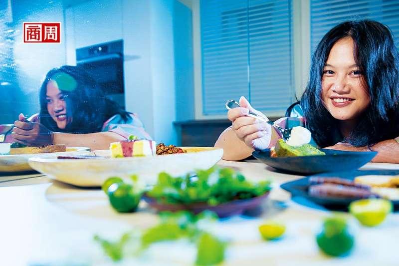 台灣女孩李宛蓉,搖身一變成為好萊塢食物造型師。 (圖/商業周刊提供)